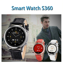 Fashion ZGPAX S360 Waterproof Smart Bluetooth Watch With Passometer Sleep Monitor Phone Anti-lost Remote Camera and SOS.