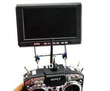 Free Shipping  W/ tracking number FPV Monitor Mount Holder Display Support Folding 2.5MM Carbon Fiber (China (Mainland))