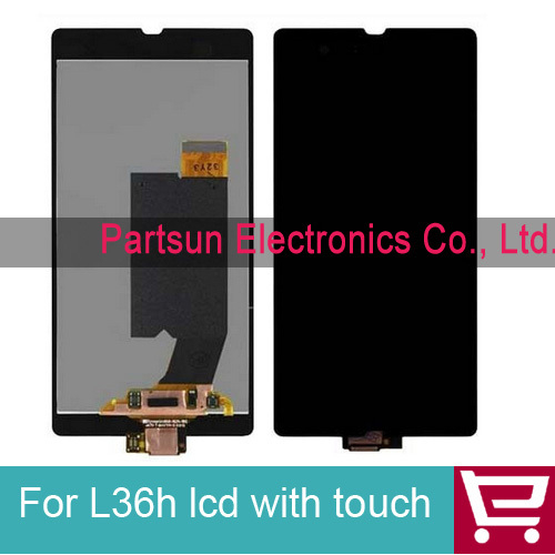 Full LCD Display + Touch Screen Digitizer For Sony Xperia Z L36H LT36i LT36h LT36 C6603 C6602 Free Shipping