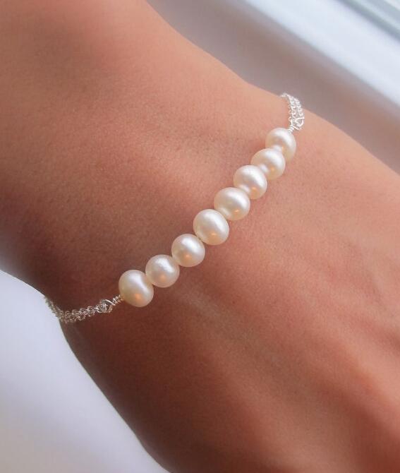 Pulseras Pulseiras Femininas Pulseira Masculina Europe Style Charming Elegant Imitation Pearl Bracelet Bangle Hand Chain New(China (Mainland))