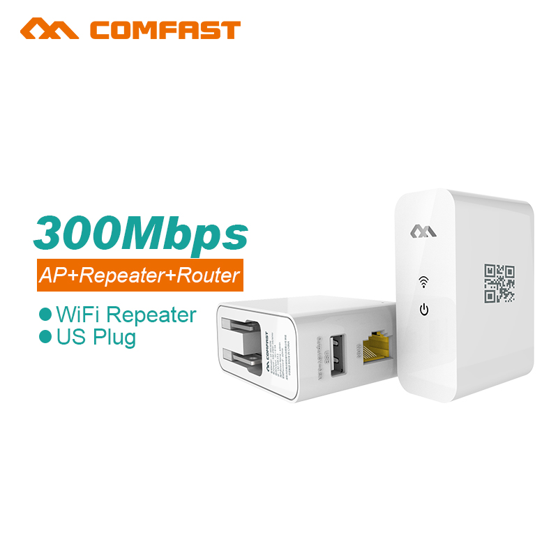 Comfast Quality Wifi Repeater Wireless 802.11N/B/G Network Router Range Expander 300M Antenna Signal Booster AP Wifi Router(China (Mainland))