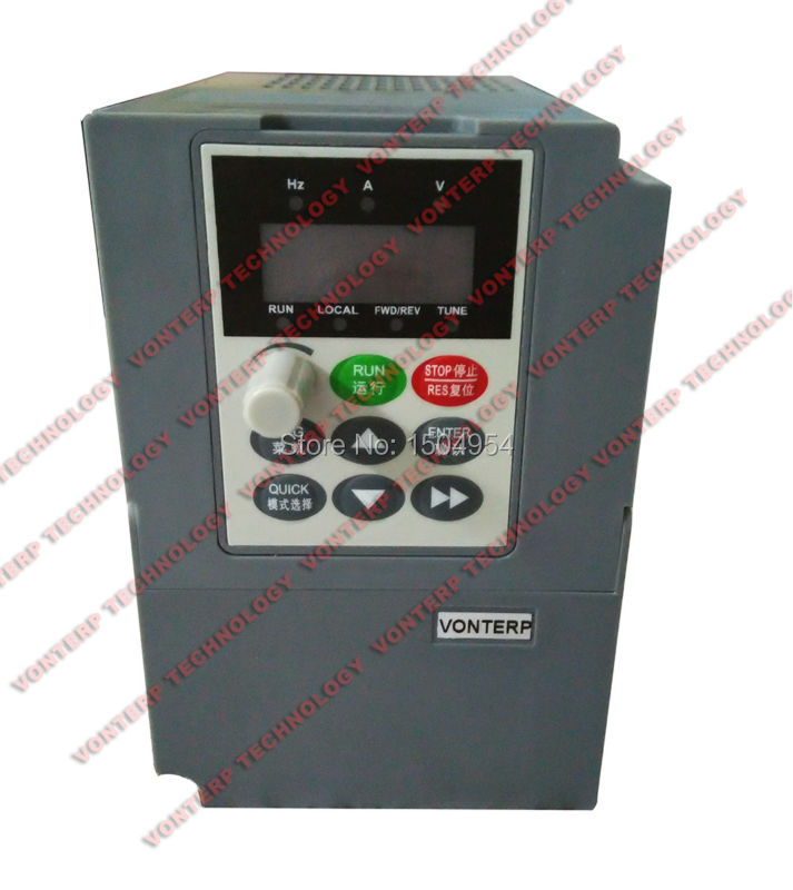 Фотография ac motor speed control/ac drive/VFD/VSD  VTP8-0R7-G1 220V 1 phase input and 220v 3 phase output