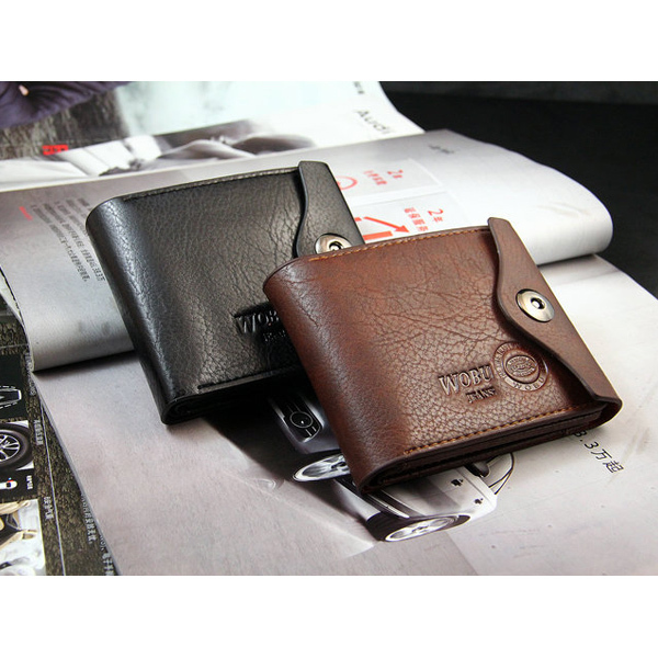 2015 New Leather Brand Men's Wallet Multifunctional Short Design Men Wallet Zipper Coin Purse Card Holder(China (Mainland))