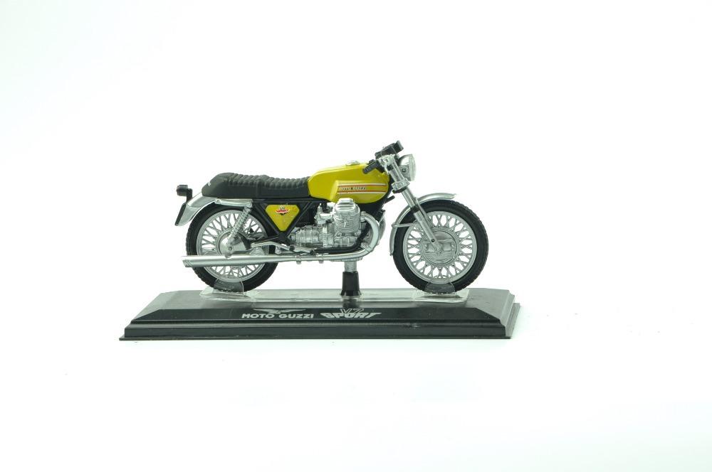 2015 new 1:22 brinquedos for miniaturas de motos carro moto miniatura kids toys para as criancas motorcycle model V7 SPORT(China (Mainland))