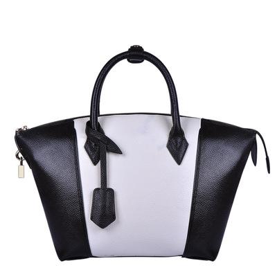 The new lady handbag leather handbag bump color one shoulder aslant female bag(China (Mainland))