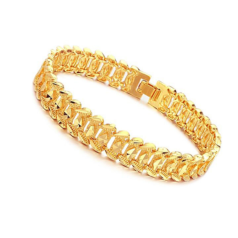 jewelry classic 18k real gold plated gorgeous bracelet