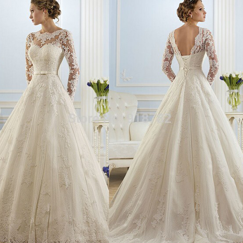 Buy 2016 beautiful lace wedding dresses cheap line gown for Cheap but beautiful wedding dresses