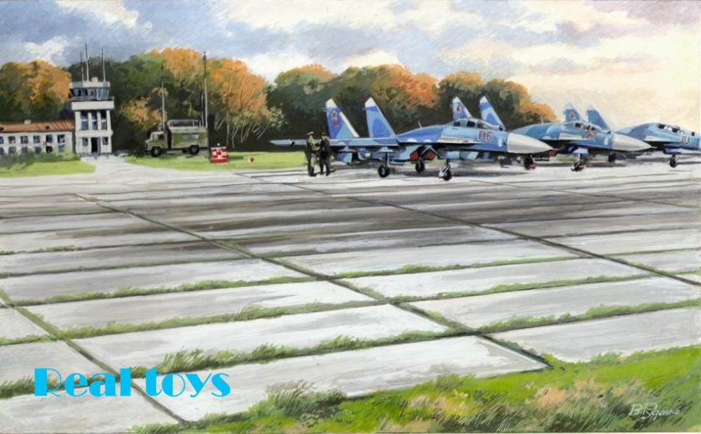 ICM model 72214 1/72 Soviet PAG-14 Air-field Plates plastic model kit(China (Mainland))