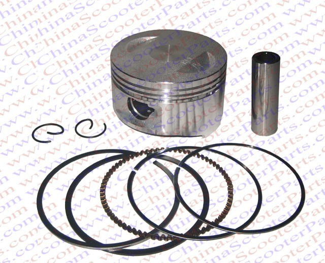 Performance 63MM Piston Ring Kit font b GY6 b font 180CC Quad ATV Go Kart Buggy