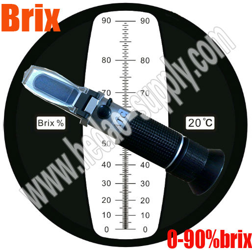 Lowest price!! 0-90 Brix Refractometer for sugar tester<br><br>Aliexpress