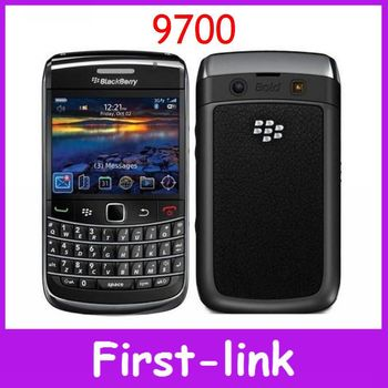 Первоначально открынный Blackberry Bold 9700 GPS WIFI 3.15MP камеры 2.4 дюймов сотовых телефонов