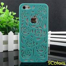 2014 new design new arrival fashion roses TPU cover for apple iphone 4 4s 4g,Soft GEL back case cover for iphone4 iphone4s(China (Mainland))