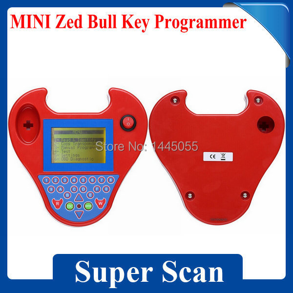Top-Rated Car Key Programmer Zed Bull Transponder No Tokens No Key Need Zed-Bull With Mini Type HKP Free Shipping(China (Mainland))