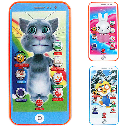 Bluelans 1 Pc Baby Simulator Music Phone Touch Screen Children Educational Learning Toy(China (Mainland))