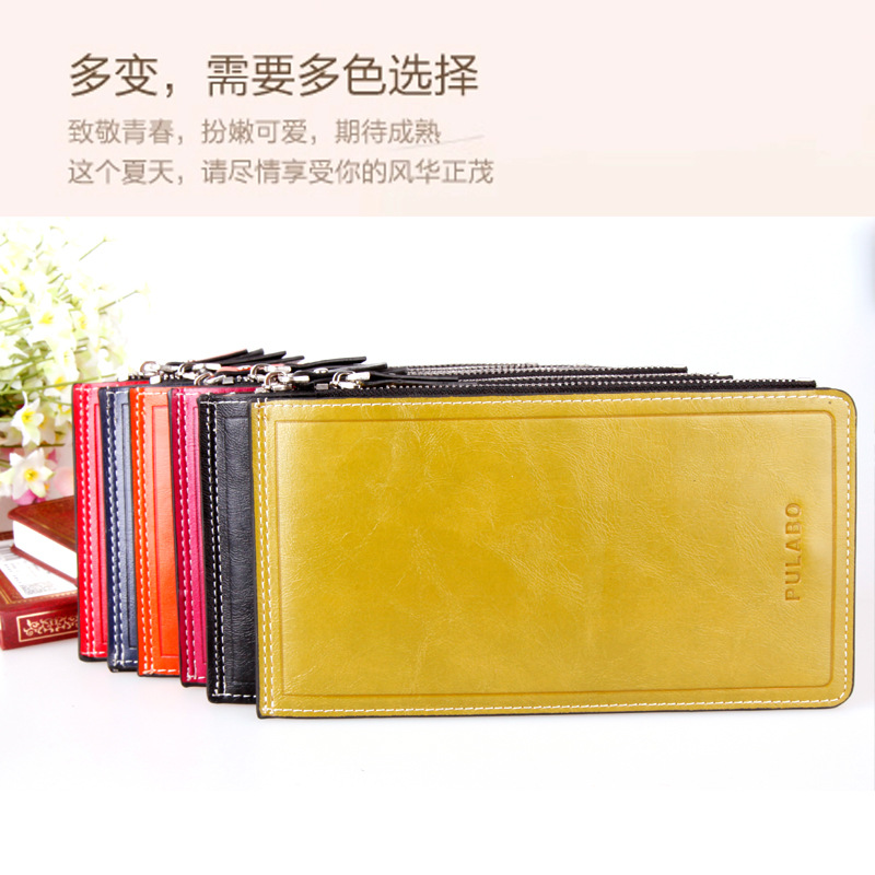 h purse - Aliexpress.com : Buy Women Oil Wax Pickups Bag Leather Multi card ...