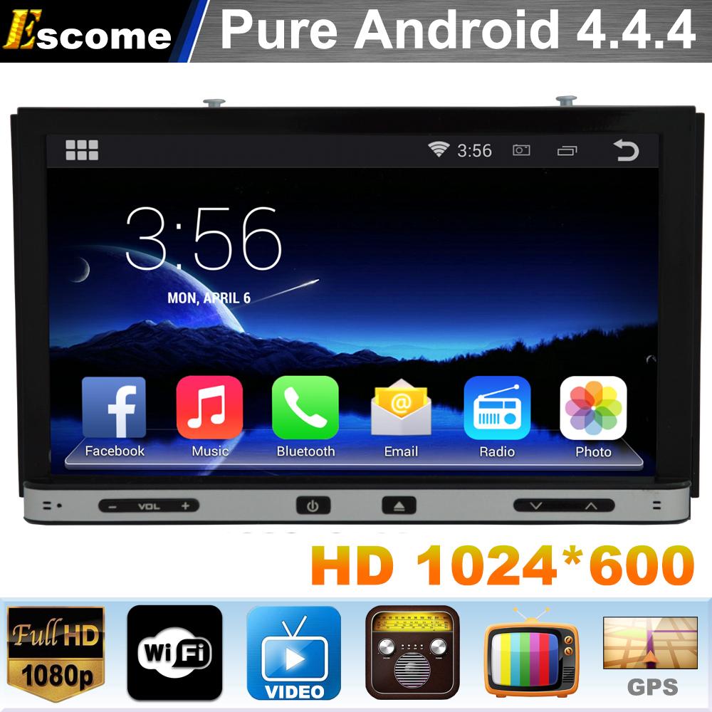 Pure Android 4.4 2Din Car DVD GPS Universal Player Radio Stereo Audio GPS Navigation For Nissan Tiida 2004 - 2010 NISSAN QASHQAI(China (Mainland))