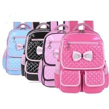Lovely School Bags Children Backpack Kids Shoulder Bags Waterproof Design Student Backpack Book Bag Primary School 4 Colors(China (Mainland))