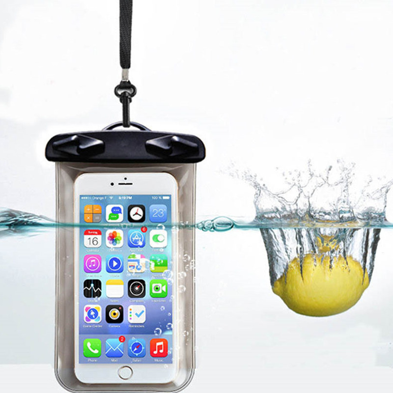 Waterproof Mobile Phone Bags with Strap Dry Pouch Case Cover For Apple iPhone 4 4S Swimming Waterproof Phone Pouch For 4 4S New(China (Mainland))