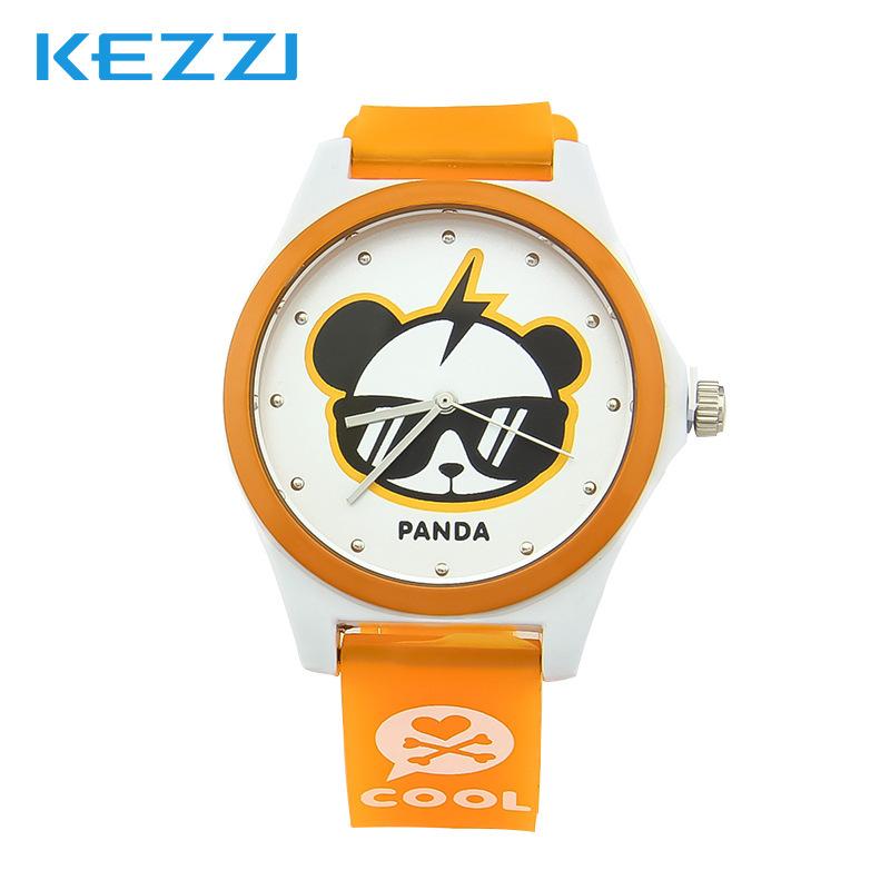 2015 New Arrival Alloy Hot Sale Fashion Cute Cartoon Panda Quartz Watch Waterproof Kids Watches Casual Child Wrist Free Shipping(China (Mainland))