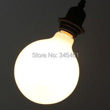 40W Milky white Bulb G80 / G95 / G125 Ordinary incandescent bulbs Pendant Lights light Lamp Big E27 Dragonball Light Bulbs(China (Mainland))