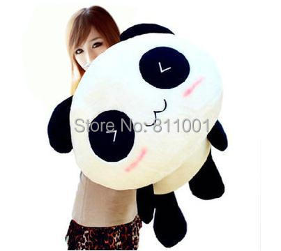 Ship Out Within 24 Hour Super Cute 28cm Smile Panda Stuffed Plush Toys Lie Prone To Lie Prone Bear Holiday Gifts(China (Mainland))