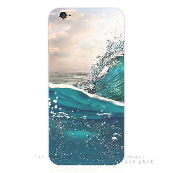 5/5S/SE Newest Painting Volcano Eruption Silicon Cover For Apple iPhone 5 5S SE Cases Case For Phone5S Phone Shell 2016 Newest