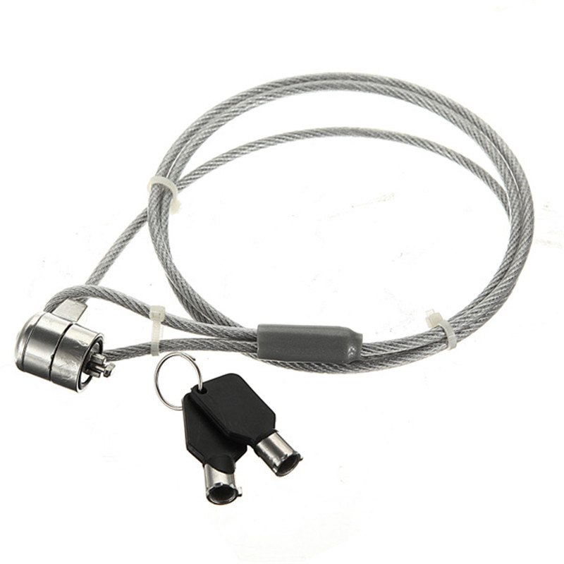 Brand New Security Cable Chain Leash Lock Laptop for Notebook With 2 Keys Promotion(China (Mainland))