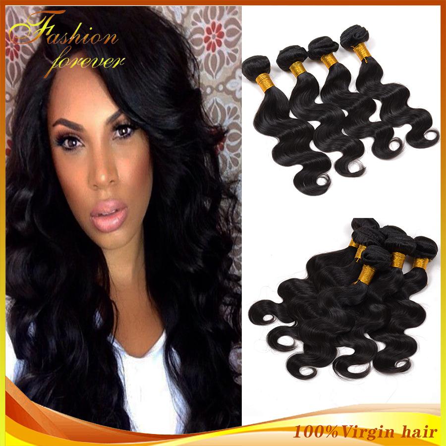 Ms Lula Hair Brazilian Virgin Hair Body Wave 3pcs/lot Unprocessed Brazilian Body Wave Human Hair Weave bundles Very Soft(China (Mainland))