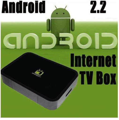 Free Shipping IPTV Android 2.2 -Internet TV Box Android Market HDTV PC and TV all-in-one/Samsung Cortex A8 CPU and Android 2.2(China (Mainland))