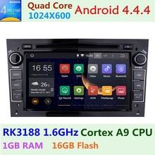"Quad Core 1024*600 Autoradio 2 din 7"" Car DVD GPS Android 4.4 for Opel Astra Corsa Vectra Meriva Antara Steering-wheel Car Pc(China (Mainland))"