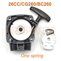 26CC 1E34F Brush Cutter Grass Trimmer Recoil Starter ForMitsubish cg260 BC260