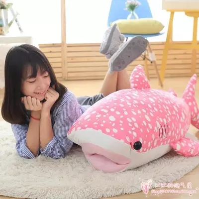 100cm Giant Stuffed Soft Animal Whale Toy Plush Large Bluewhale Doll Nice Baby Gift(China (Mainland))