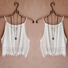 Women Fashion Sexy Summer Sleeveless Camisole Casual Crop Blouse Tops Shirt Vest(China (Mainland))