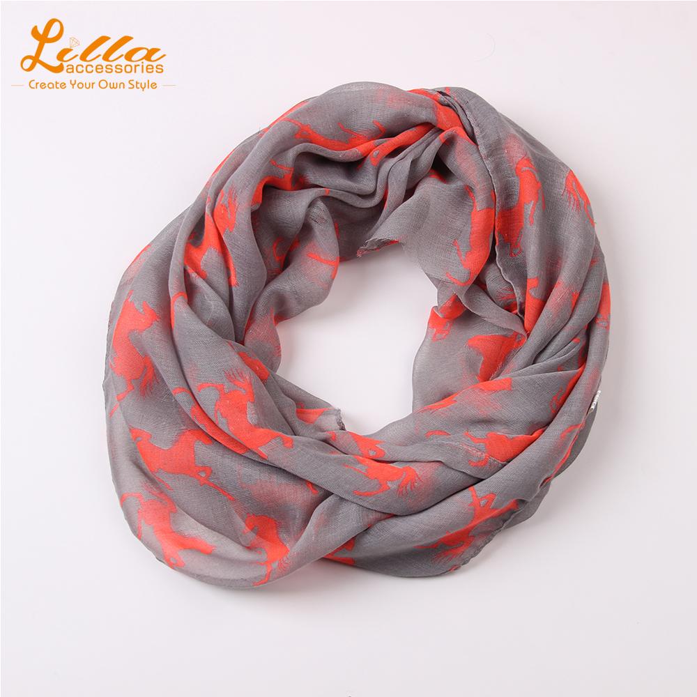 2015SS Striped female printed Horse Scarf bandana cheap long Scarves woman Polyester Shawl Hijab designer scarfs(China (Mainland))