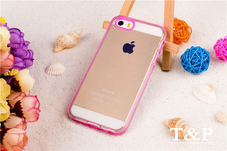 Original Cell Phone Cover Housing For Apple iphone55s iPhone 55s 5 5s Mobile Phone Case For iPhone 5 5S Transparent Skin Shield