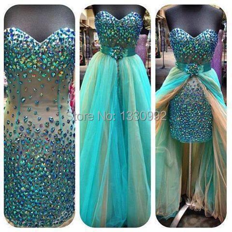 Online Get Cheap Mint Green Prom Dresses 2015 -Aliexpress.com ...