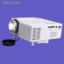 UC28 Full High Definition HD Home Theater Multimedia LED Projector 1080P Mini  Portable Home Beamer For TV/Video/Game