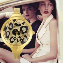 2015 Relogio Feminino Mujer ginebra del Reloj de la Mujer Reloj mujeres friegan cuero Reloj de pulsera Reloj de cuarzo relojes de señora