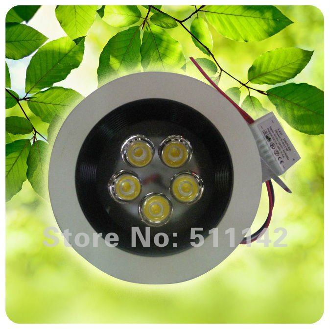 2012 new products 5w led ceiling lights, ceiling led, No glare interference of light source, AC 85~265V, Warm White(China (Mainland))