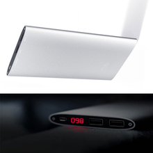 10000mAh Dual USB Port Power Bank For iPhone 6s Samsung S6 Xiaomi Portable Battery Charger Powerbank Mobile Phone Backup Power