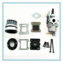 HP fibre carbon reed and carburetor kit for 2-stroke 47cc/49cc engine/Mini Pocket Bike Dirt Bike and ATV-Quads