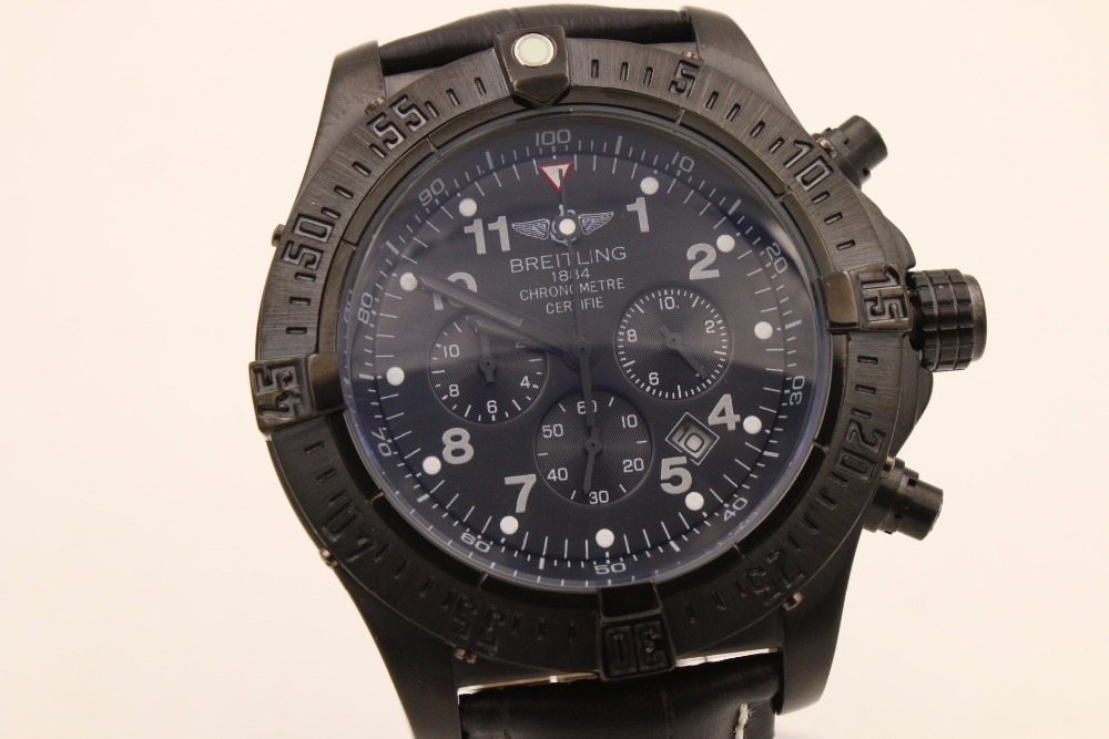 This black watch is all about sleek Thread: Blacked-Out Watches - Whats you Find here the new collection of Bentley(China (Mainland))