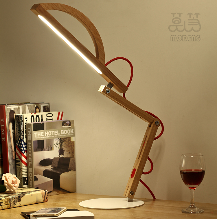 Dhlfree Modern Foldable Adjustable Table Lamps