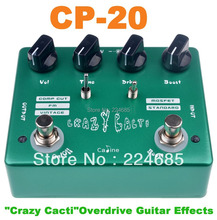 "CP-20 ""Crazy Cacti""Overdrive Guitar Effects Caline Guitar Pedal CP20 Effect Pedal ""Crazy Cacti""Overdrive Pedals(China (Mainland))"