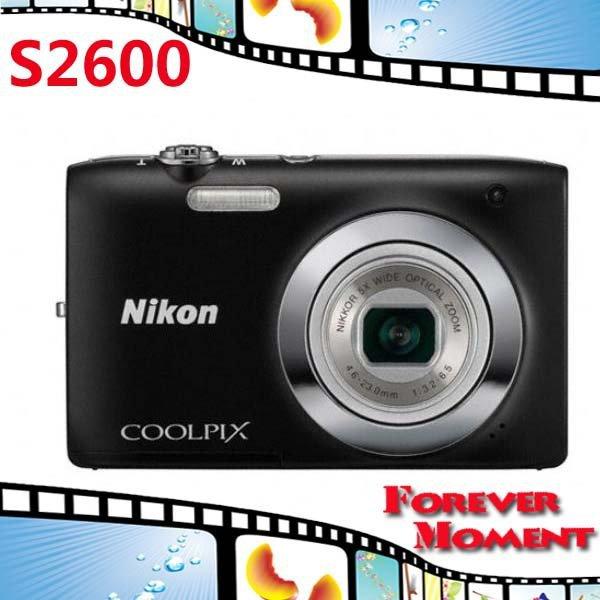 S2600 Original Nikon COOLPIX S2600 5x Optical Zoom,4x Digital Zoom,14MP Sensor Resolution Digital Camare Free Shipping!!!(China (Mainland))