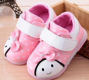 Baby toddler shoes baby mocassins leisure first walkers brand spring autumn soft bottom single shoes girl cute zapatos de nina6a