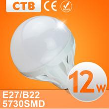 Quality Assurance 10PCS/lot E27 B22 Light Bulb 10W 12W 15W LED Bulb Lamp, 220V Cold/Warm White Led Spotlight Lamps Free Shipping