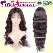 T1 5A Brazilian Full Lace Wigs Loose Wave Silky Brazilian Virgin Hair Wigs Style Cheap Full Lace Human Hair Wigs With Baby Hair(China (Mainland))