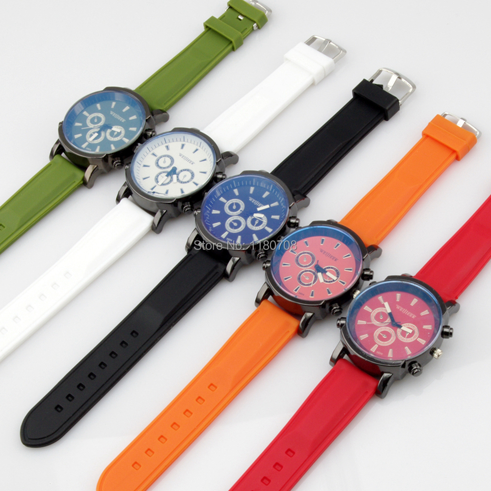 Candy Color Kids Watches Vintage Style Distinctive Silicone Strap Analog quartz student Wrist Watches Gift<br><br>Aliexpress