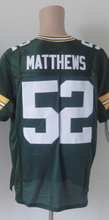 SexeMara,4 Favre 12 Rodgers 27 Lacy 52 Matthews 87 Nelson,Size S-XXXL,green white Best Quality man(China (Mainland))